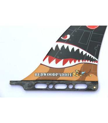 FLYING TIGER RACE FIN FINS & PADS
