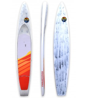 "Stand up paddle RACE 14' x 25"" Flying Tiger- REDWOODPADDLE SUP BOARDS"
