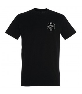 TEE SHIRT BLACK REDWOODPADDLE
