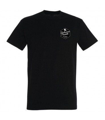 TEE SHIRT BLACK - REDWOODPADDLE Stand up paddle