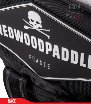 Fb'R Pro V 14' x 29 - Woven construction - REDWOODPADDLE Stand up paddle RACE & TOURING