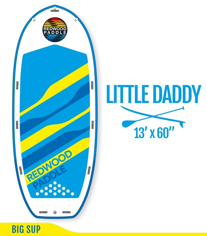 LITTLE DADDY 13' - REDWOODPADDLE Stand up paddle BOARDS