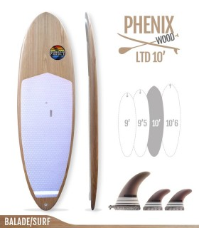 PHENIX LTD 10' WOOD SERIES - REDWOODPADDLE Stand up paddle