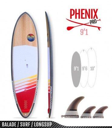 PHENIX PRO 9'1- REDWOODPADDLE Stand up paddle