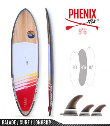 PHENIX PRO 9'6 - REDWOODPADDLE