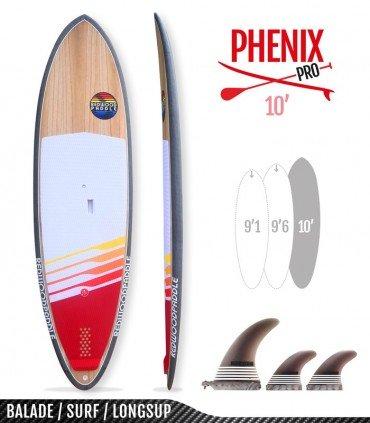 PHENIX PRO 10' - REDWOODPADDLE Stand up paddle PHENIX PRO