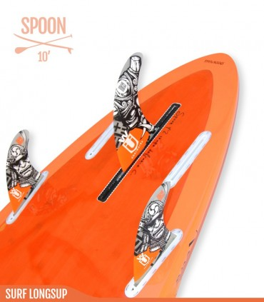 SPOON 10' CLASSIC - REDWOODPADDLE Stand up paddle SURF LONGSUP