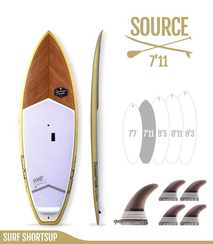 SOURCE 7'11 Natural SUP SHORTBOARD
