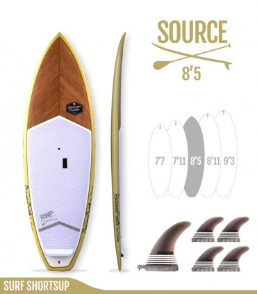 SOURCE 8'5 Natural - REDWOODPADDLE Stand up paddle