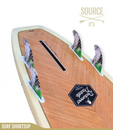 SOURCE 8'5 Natural - REDWOODPADDLE Stand up paddle SURF SHORTSUP