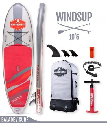Funbox Pro 10'6 WindSUP - REDWOODPADDLE Stand up paddle