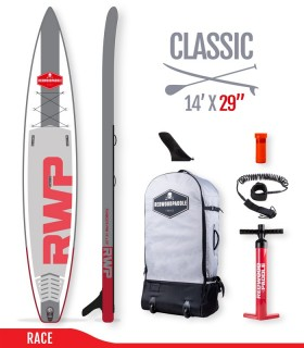 Fb Pro 14' x 29 - Woven construction - REDWOODPADDLE Stand up paddle