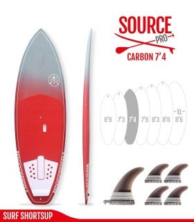 SOURCE PRO 7'4 Carbon Brush