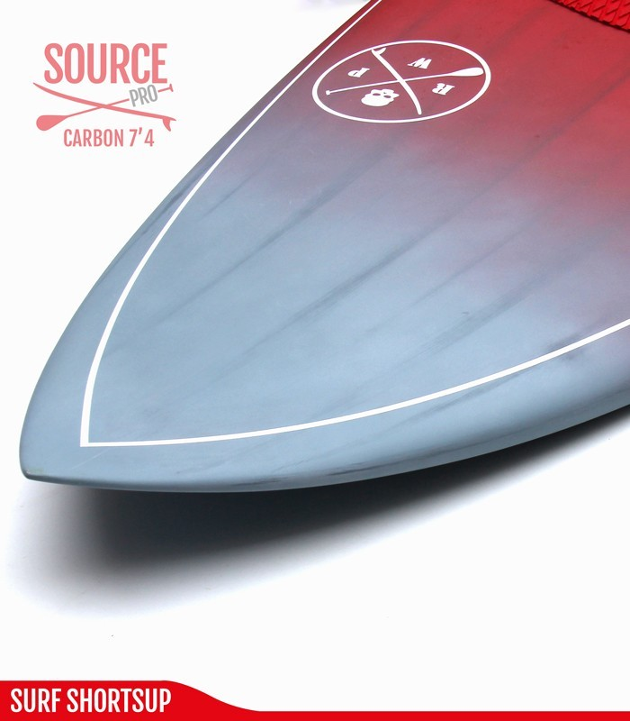 SOURCE PRO 7'4 Carbon Brush - REDWOODPADDLE Stand up paddle SOURCE PRO