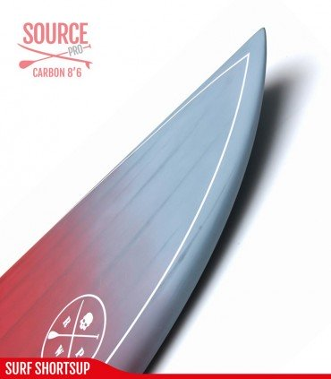 SOURCE PRO 8'6 Carbon Brush - REDWOODPADDLE Stand up paddle SOURCE PRO