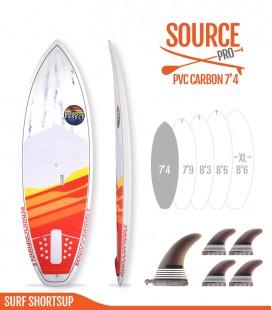SOURCE PRO 7'4 Pvc Carbon