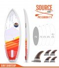 SOURCE PRO 7'4 Pvc / Carbon - REDWOODPADDLE Stand up paddle SOURCE PRO