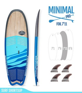MINIMAL 7'11 Pro Foil - REDWOODPADDLE Stand up paddle