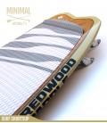 MINIMAL 7'1 Natural - REDWOODPADDLE Stand up paddle MINIMAL