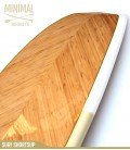MINIMAL 7'6 Natural - REDWOODPADDLE Stand up paddle MINIMAL