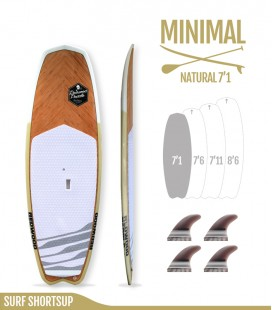 MINIMAL 7'1 Natural - REDWOODPADDLE Stand up paddle