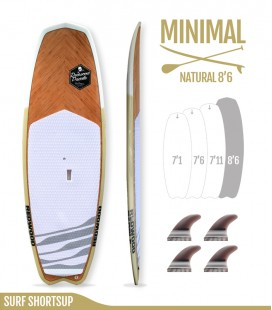 MINIMAL 8'6 Natural - REDWOODPADDLE Stand up paddle