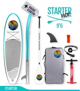 Pack Funbox 9'6 Starter- REDWOODPADDLE Stand up paddle