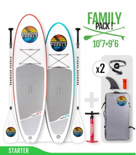 Pack Family Starter - REDWOODPADDLE Stand up paddle