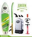 Funbox 9'2 Pro Green - REDWOODPADDLE Stand up paddle