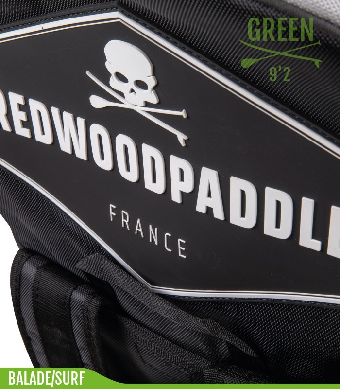 Funbox 9'2 Pro Green - REDWOODPADDLE Stand up paddle FUNBOX PRO BALADE SURF