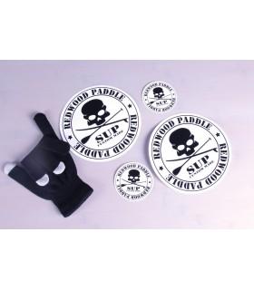 Pack Stickers Medium Redwoodpaddle