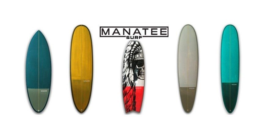 New MANATEE surfboards