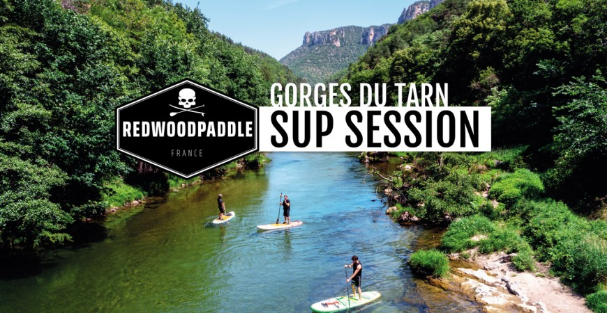 Paddle gonflable SUP session Gorges du Tarn