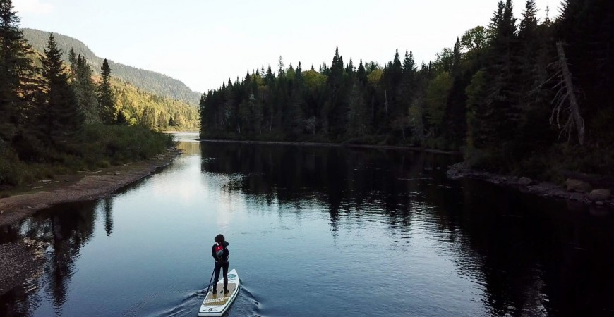 Redwoodpaddle Canada SUP Trip Sept 17