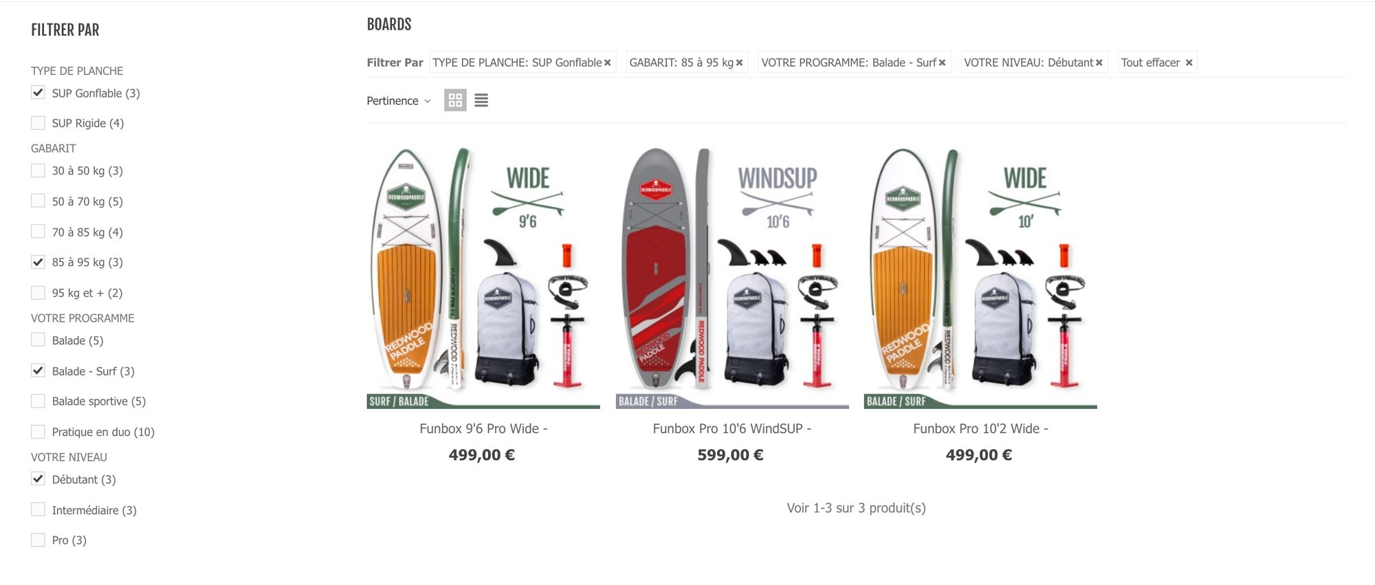 boards choice
